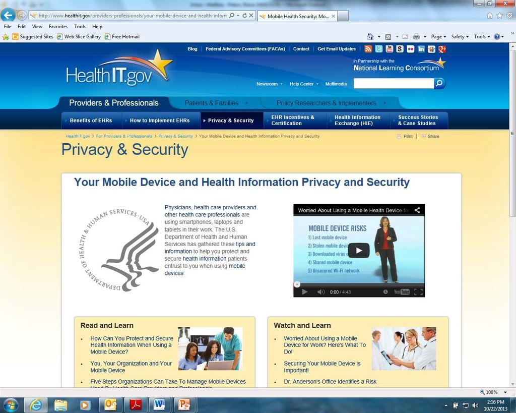 Mobile Device Security http://www.