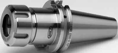 CAT Taper ER Collet Chucks The ER COLLET SYSTEM is the only Clamping System with the flexibility to allow and combine drilling, reaming, milling, and tapping utilizing the same chuck, without