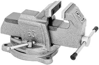 00 Bench Vises TMX Heavy-Duty w/swivel Base Milling Vise