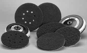 Standard Abrasive Buff Blend Discs, Quick Change Style Lockit Part No.