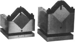 "V-Block Set 19/32 Capacity Import - Hardened & Ground Angle Block Set (10pc) 3"" long x 1/4"" thick Import Block Size"