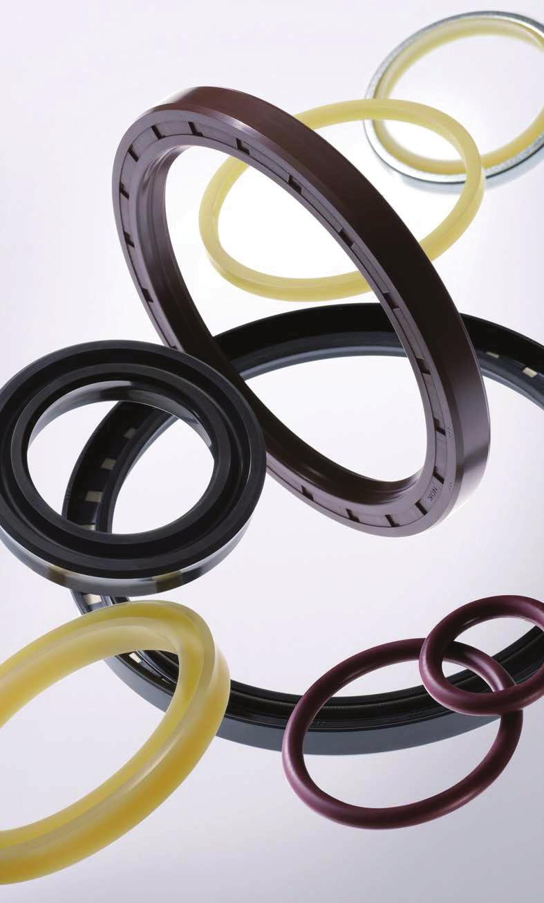 NOK Major Products: Oil Seals Oil seals are a functional part to seal oil.