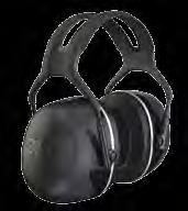 3M s highest attenuation earmuffs 3M Peltor Earmuff X5 New groundbreaking technology allows 3M Peltor X5 earmuffs to provide very high noise reduction in both standard headband and hard hat-attached