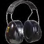 3M Peltor Optime 1 earmuffs are recommended for eight-hour TWA noise exposures up to 1 dba.