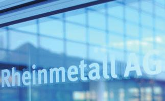 Chiefly as a result of the lower investment income, Rheinmetall AG s EBT for 2004 dropped from 120 million in 2003 to 23 million.