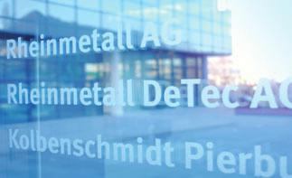 million, which is proposed to be distributed as cash dividend. Rheinmetall AG s group management and services functions include the central funding of subsidiaries.