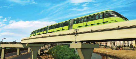 Infrastructure IC L&T is constructing India s first monorail corridor in Mumbai India s commercial capital.