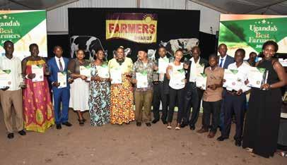 turn into learning centres and inspire other farmers to develop farming in Uganda.