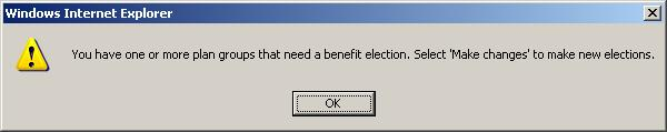 Modifying your New Year Benefit Elections Annual Benefits Enrollment During the Annual Enrollment period you may change your benefit elections made in a previous year or change benefits elected in a