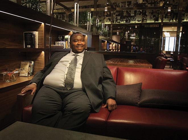 Jacob Zuma's nephew Khulubuse at the Sandton Sun in Johannesburg in 2010.