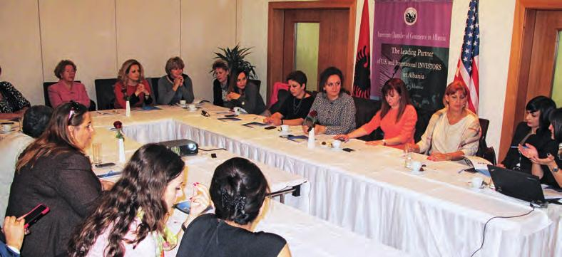 of organizing in Albania a conference that the U.S.