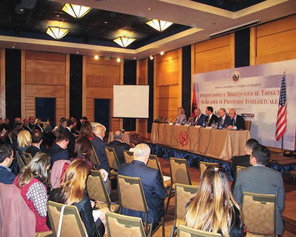 The IPR Conference 30 In early December 2014, the American Chamber of Commerce in Albania organized as part of its commitments to intellectual