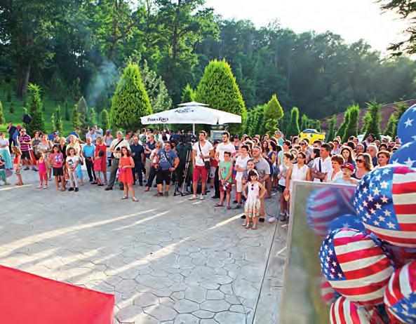 AmCham celebrates U.S. Independence Day 31 The American Chamber of Commerce in Albania has held its annual celebration of the U.S. Independence Day, marking the 239 th anniversary the establishment of the United States, a great nation and one of Albania s greatest friends.