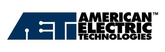 FOR RELEASE May 16 7:00 am (EST) AETI Announces Q1 2016 Results HOUSTON, May 16, 2016 - American Electric Technologies, Inc.