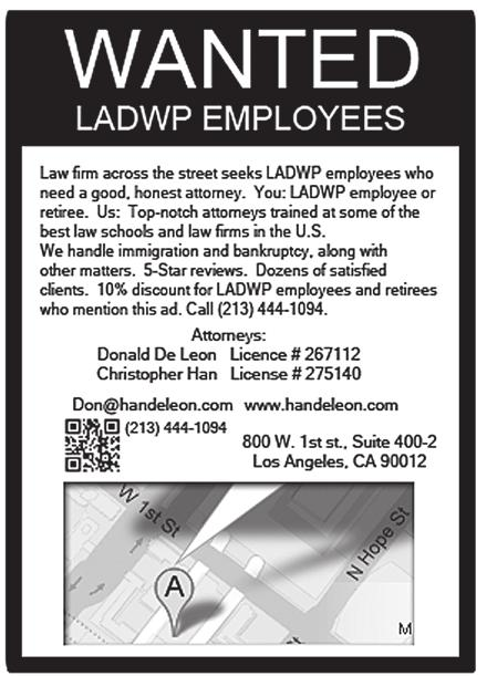 LADWP Golf Club Membership 2013 Membership signups for 2013 are now being accepted.