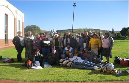 CCMA VISION, MISSION, VALUES AND FUNCTIONAL PURPOSE Members of the Farm Workers Committees from the Grahams town
