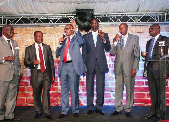 professionals in the housing industry. The event was presided over by the Central Bank of Kenya Governor, Prof.