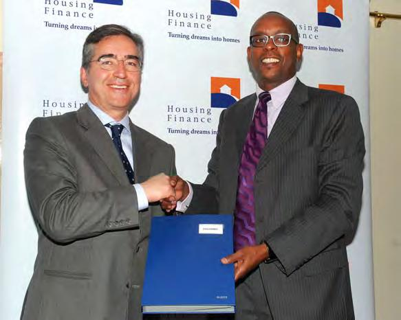 ACTIVITIES EIB Signing Housing Finance receives Kshs. 2.