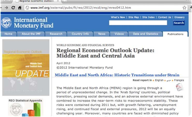 To access the full report online or to provide comments, please visit: http://www.imf.
