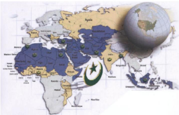 Islamic capital market : how big is it? The total worldwide Muslim population is 1.
