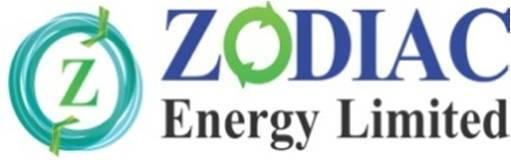 ZODIAC ENERGY LIMITED Our Company was originally incorporated as Zodiac Genset Private Limited at Ahmedabad on May 22, 1992 under the provisions of the Companies Act, 1956 vide Certificate of