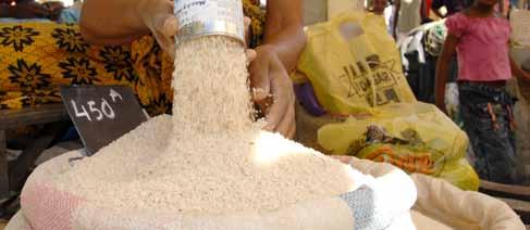 With one of the highest rates of average per capita rice consumption in the world at 138 kilograms per person, rice production not only provides the nation s single most important staple; it is also