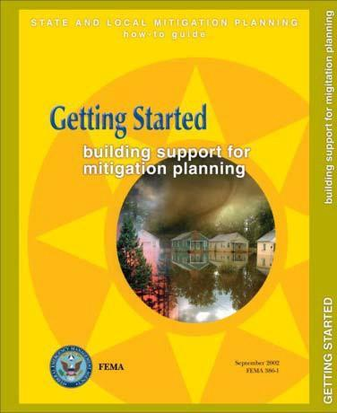 Hazard Mitigation Plan Resources FEMA(http://www.fema.
