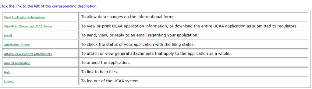 UCAA Expansion - Insurer Notifications Only when an application has successfully been submitted, email notifications are sent to the domiciliary state and expansion state(s).