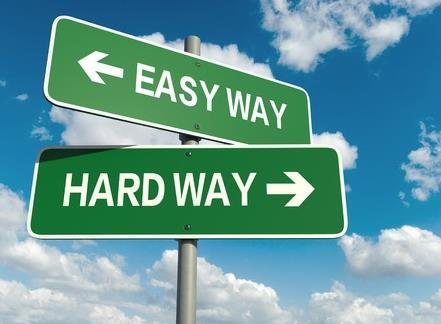 The industry is at a crossroads # The easy way: accept 5% growth rate and let the industry continue to evolve as it is.