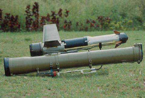 Army. INVAR (3 UBK 20) ATGM Underwater weapons The light weight torpedo can be