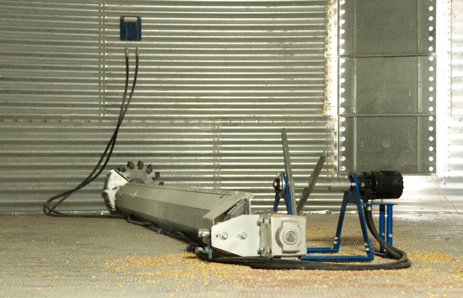 Remember the Sump Saver unit needs to be moved out of the way before starting the power sweep.
