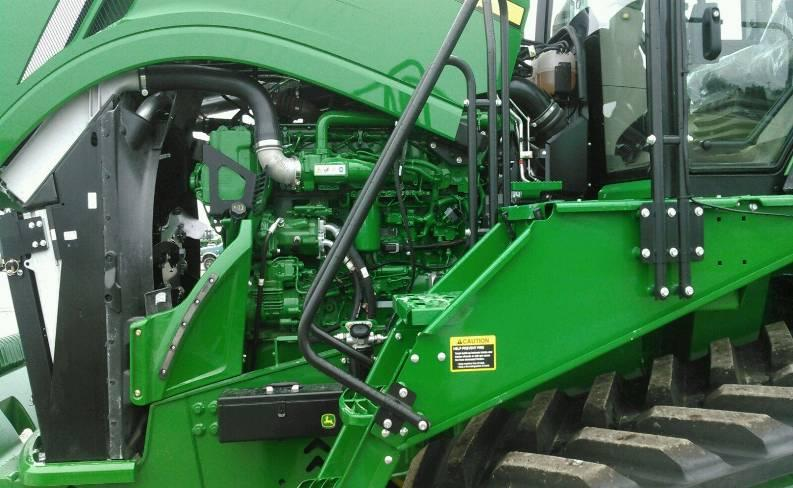 John Deere w/ QSX15 Cummins Engine Installation Instructions 1) Lift the hood and locate the ECM on