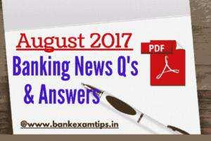 Latest Banking Current Affairs 2017 PDF August 2017 Latest RBI Policy Rates August 2017 Repo Rate: 6% ( It was reduced by 25 basis points from 6.25% to 6%). Reverse Repo Rate: 5.