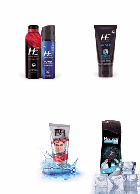HE Innovator Men s Deodorant is an exciting fragrance for the young go-getter, who finds his way through any obstacle and sets the trend in every walk of life.