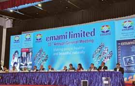 Update Management Discussion and Analysis International marketing division Emami is present in more than 60 countries with a strong presence in GCC countries, Bangladesh, Russia and South Asia.