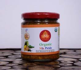 "- Living the Satvik Way"" for organic products at Channi Himmat, Jammu."
