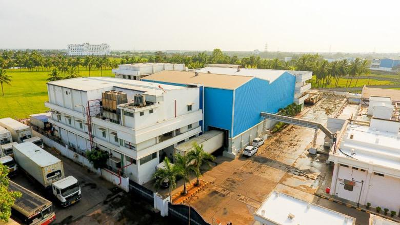 Facilities and location of the existing unit: Kakinada processing unit The processing unit situated in Kakinada is strategically located in the coastal belt of Andhra Pradesh.