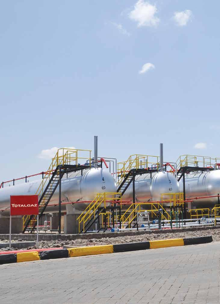 To further increase our Liquefied Petroleum Gas (LPG) distribution capacity, we have installed two more bulk LPG storage tanks at our Nairobi LPG Plant in Industrial Area.
