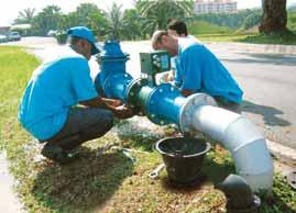 follows: i. Upgrading of the water supply system at Kg Parit Mahang, Kuala Selangor. ii. Upgrading of the water supply system and pump house at Kg Darul Hidayah, Hulu Langat. iii.