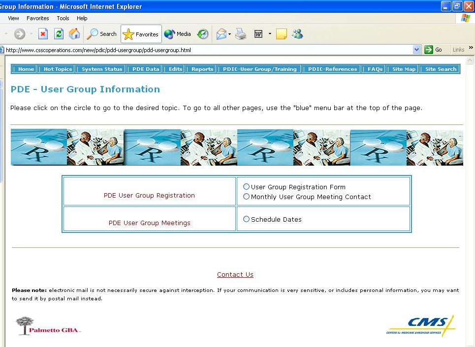 2007 Prescription Drug Event Data Training RESOURCE GUIDE User Group