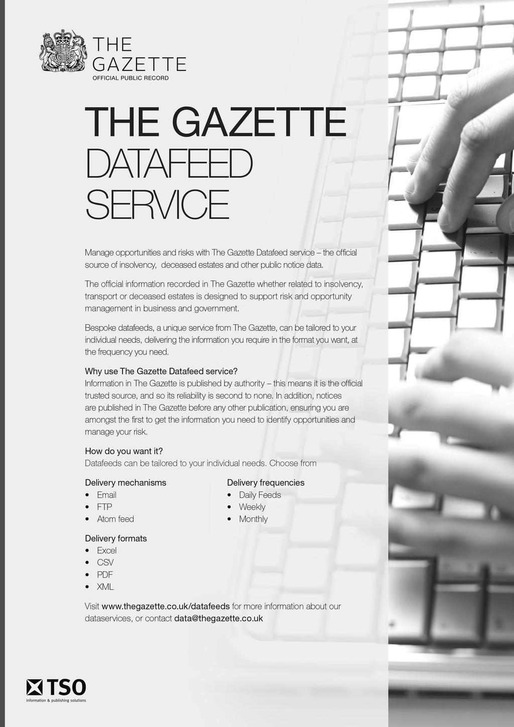 ALL NOTICES GAZETTE CONTAINING ALL