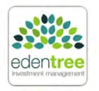 Ethical Amity International A From the 6 July 2015 Ecclesiastical Investment Management have been rebranded as EdenTree Investment Management.