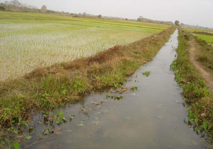 88 Annex 5 d) Irrigation canal: There is only one type of