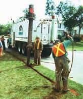 Maintenance pits Installation service pits Pole/Piling Holes Utility poles,