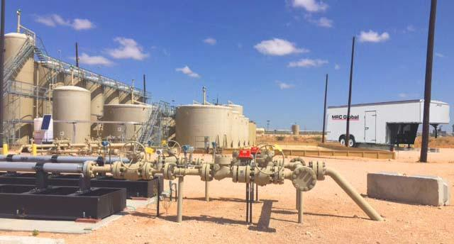 completions & production tank battery upgrades and expansions Walk-in counter sales at strategically located branches in active oil & gas production areas Located in all major basins - revenue