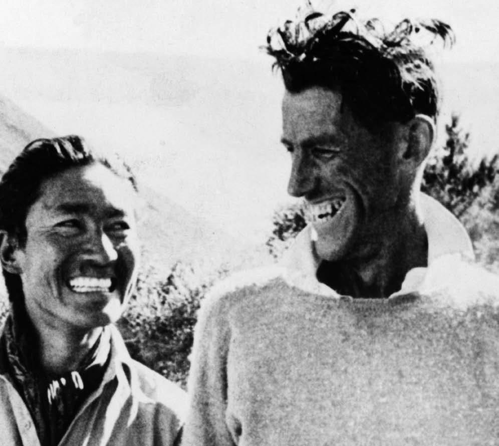 50s Tenzing Norgay and Edmund Hillary First Conquerors of Mount Everest Kredietbank S.A. Luxembourgeoise founded in Luxembourg on 23 May 1949.