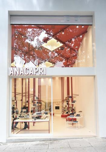 reinforce brand image Total sales area and # of stores (000 m 2 ) Anacapri Oscar Freire/