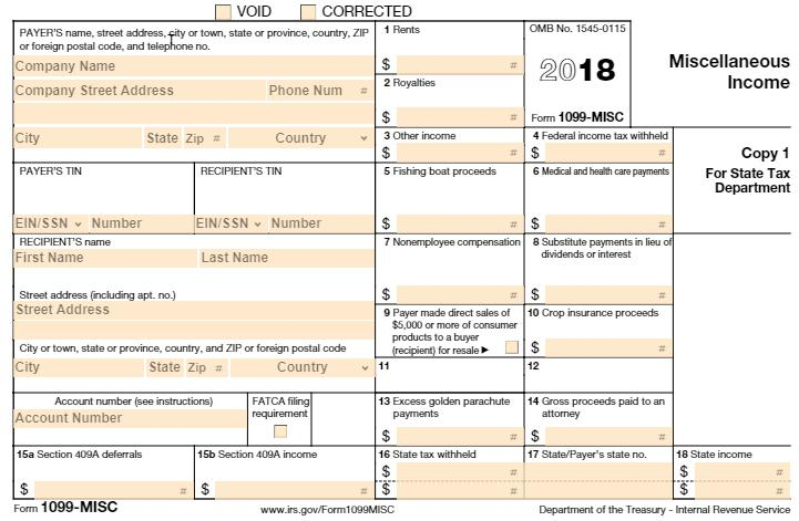 Understanding the 1099 Box Reporting Box 1 Rent(s) OBJECT: 56XX Examples: Real Estate rental paid for office space (unless paid to a real estate agent) Machine Rental that is part of a contract that