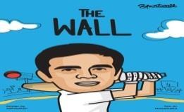 Comic book titled 'The Wall' releases on Dravid's 45th b'day Rahul Dravid is the latest addition to the list of comic heroes.