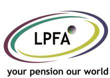LPFA Board 21 st February 2017 Managing Director s Report PF1789, Item 3 Purpose and summary To provide the Board with a quarter summary of administration performance against the set targets, an